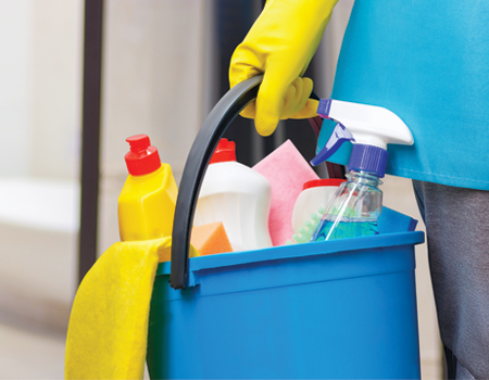 Professional Cleaning Materials